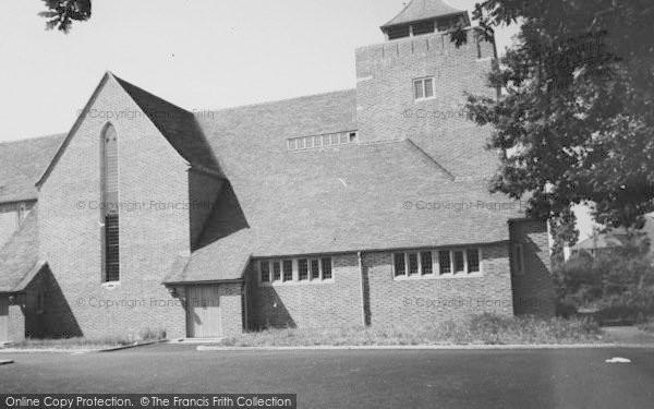 Photo of Shirley, All Saints Church, Spring Park c.1960