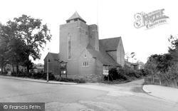 Shirley, All Saints Church, Spring Park c.1960