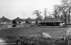 Shirley, Bowling Green c.1955