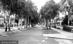 Shirley, Bridle Road c.1965