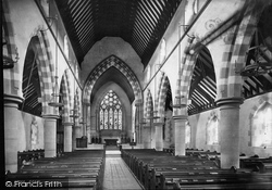 Shirley, Church Interior 1890