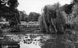 Shirley, Lily Pond, Coombe Gardens c.1960