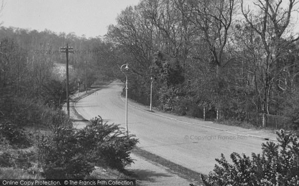 Photo of Shirley, Oaks Road c.1955
