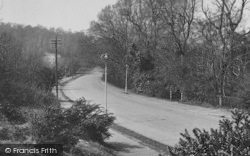 Shirley, Oaks Road c.1955