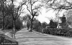 Shirley, Oaks Road c.1955