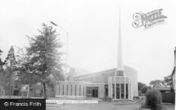 Our Lady Of The Wayside Rc Church c.1960, Shirley