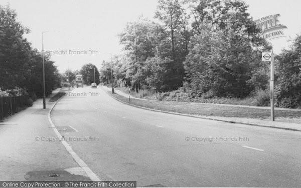 Photo of Shirley, Shirley Hills Road c.1960