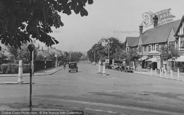 Photo of Shirley, Shirley Road c.1955