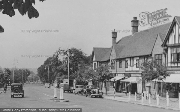 Photo of Shirley, Shirley Road c.1955