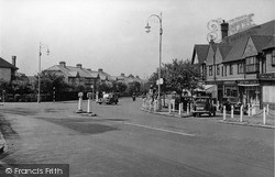 Shirley, Shirley Road c.1955