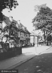 Shirley, Shops On Bridle Road c.1960
