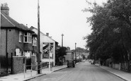 Shirley, Spring Park Road c1960