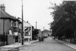 Shirley, Spring Park Road c.1960