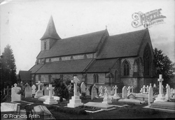Shirley, St John's Church 1890