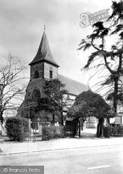 Shirley, St John's Parish Church c.1955