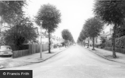Stanway Road c.1965, Shirley