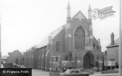 Shirley, The Baptist Church c.1965