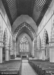 Shirley, The Church Interior 1890