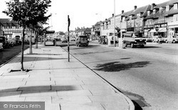 Shirley, The New Shopping Centre c.1960