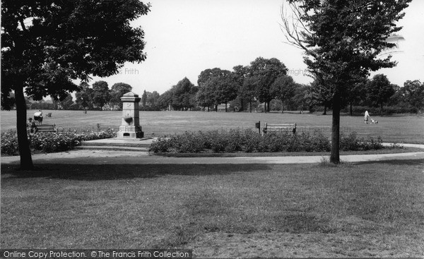 Photo of Shirley, the Park c1960