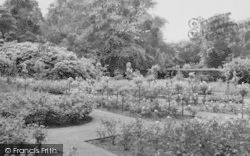 Shirley, The Rose Garden, Coombe Woods c.1960