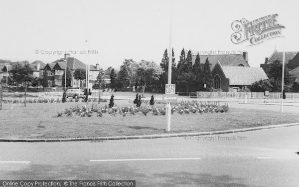 Photo of Shirley, The Roundabout c.1960