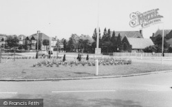 Shirley, The Roundabout c.1960
