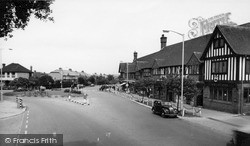 Shirley, The Roundabout, Shirley Road c.1960