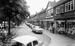 Shirley, The Shops, Wickham Road c.1965
