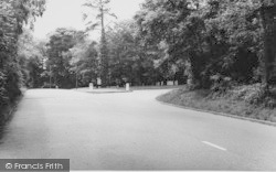 Shirley, The Triangle, Shirley Hills c.1960