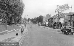 Shirley, West Wickham Road c.1955