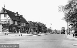 Shirley, Wickham Road c.1955