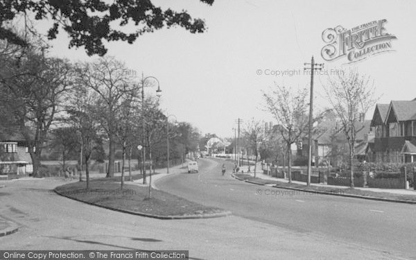 Photo of Shirley, Wickham Road c.1955