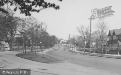 Shirley, Wickham Road c.1955