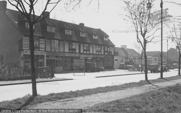Photo of Shirley, Wickham Road c.1955