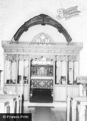 Shirwell, St Peter's Church, Screen  c.1965