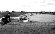 Shoeburyness, the Childrens Boating Pool c1955