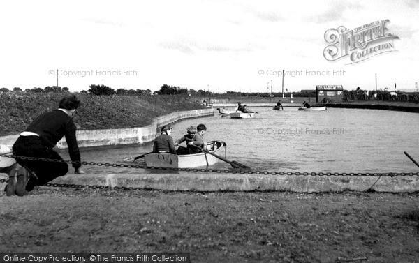 Photo of Shoeburyness, the Children's Boating Pool c1955