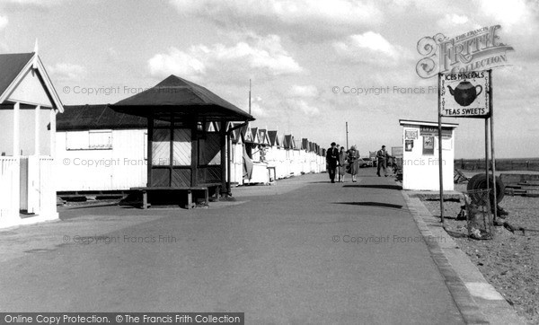 Shoeburyness, the Promenade c1955