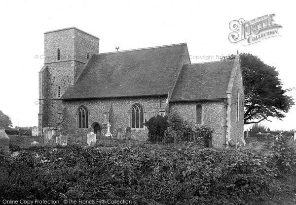 Photo of Sholden, Church 1918