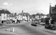 Shoreham-By-Sea, Bridge Hotel And High Street c.1960