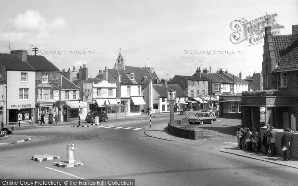 Shoreham-By-Sea, Bridge Hotel c1960