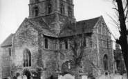Shoreham-By-Sea, Church Of St Mary De Haura c.1955