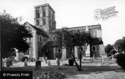 Shoreham-By-Sea, Church Of St Mary De Haura c.1960