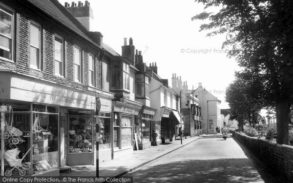 Photo of Shoreham-by-Sea, East Street c1960