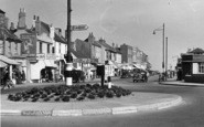 Shoreham-By-Sea, High Street And Roundabout c.1950
