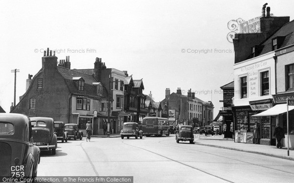 Shoreham-By-Sea, High Street c1950