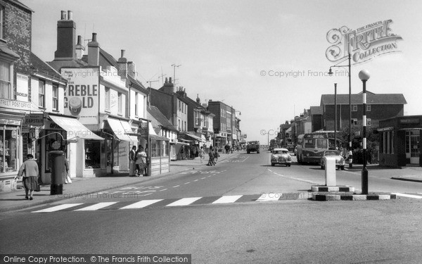 Shoreham-By-Sea, High Street c1960