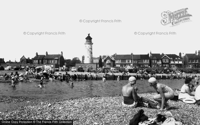 Shoreham-By-Sea, Kingston Beach c1960