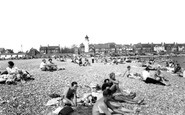 Shoreham-By-Sea, Kingston Beach c.1955
